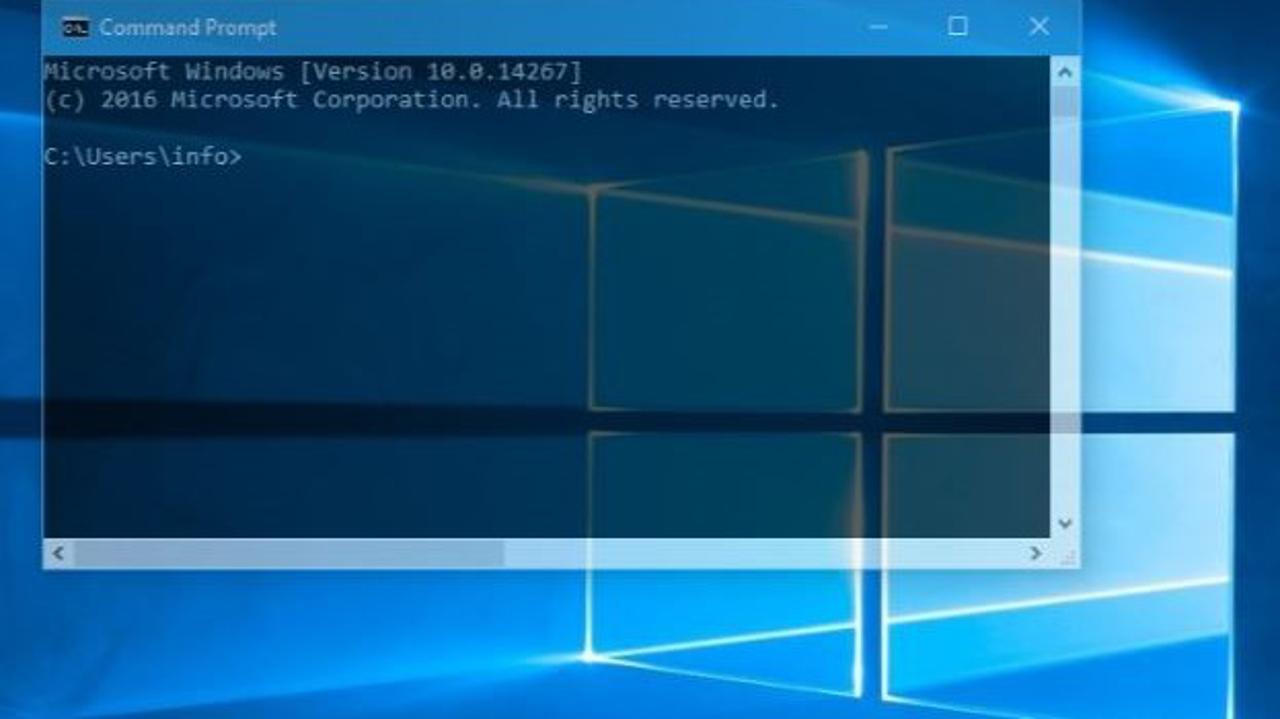 Jak otevřít příkazový řádek ve Windows (všechny verze)
