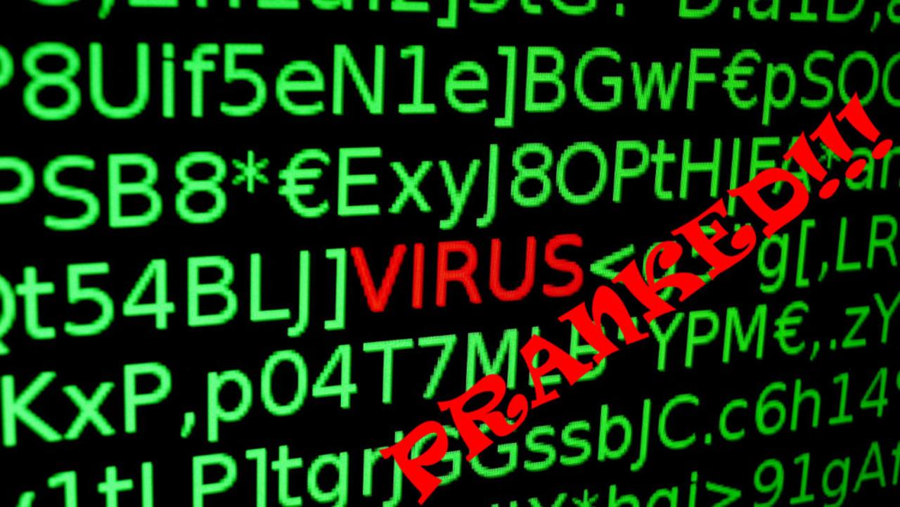 Jak vytvořit falešný virus a napálit přátele