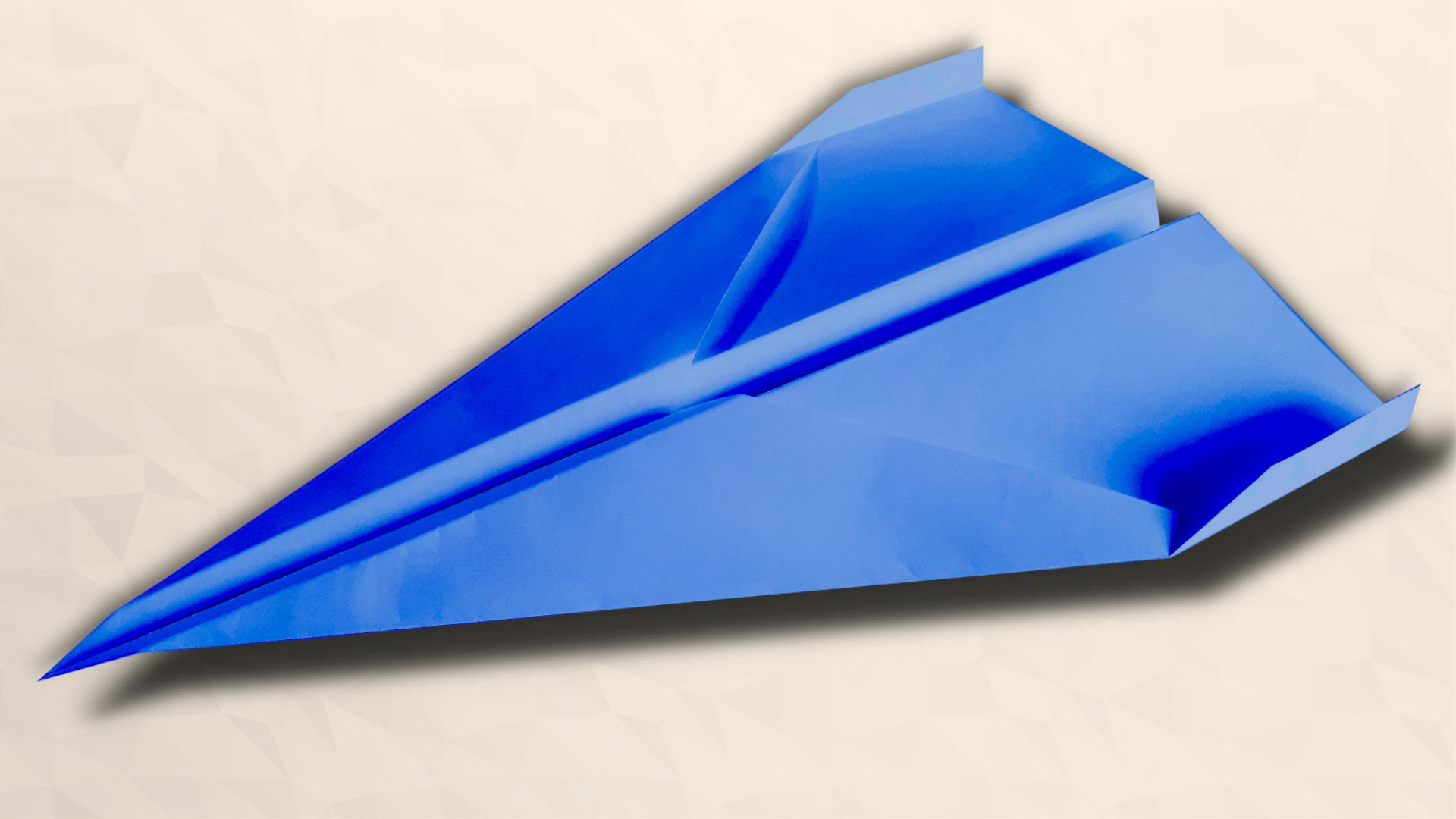 Klasická vlaštovka - Jak složit vlaštovku z papíru - ORIGAMI