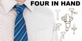 Jak uvázat kravatu Four in hand