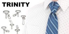 Jak uvázat kravatu - uzel TRINITY