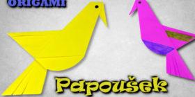 Origami papoušek | Jak vyrobit papouška z papíru