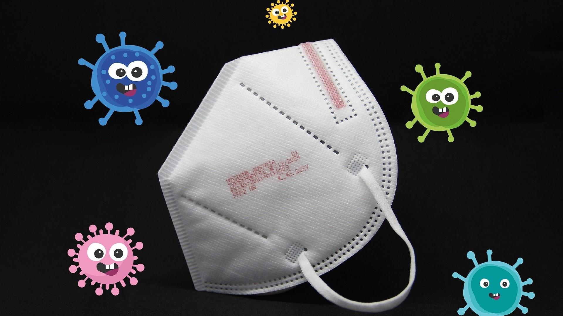 Jak dezinfikovat respirátor FFP2, jak dlouho jej nosit a kolikrát lze respirátor použít