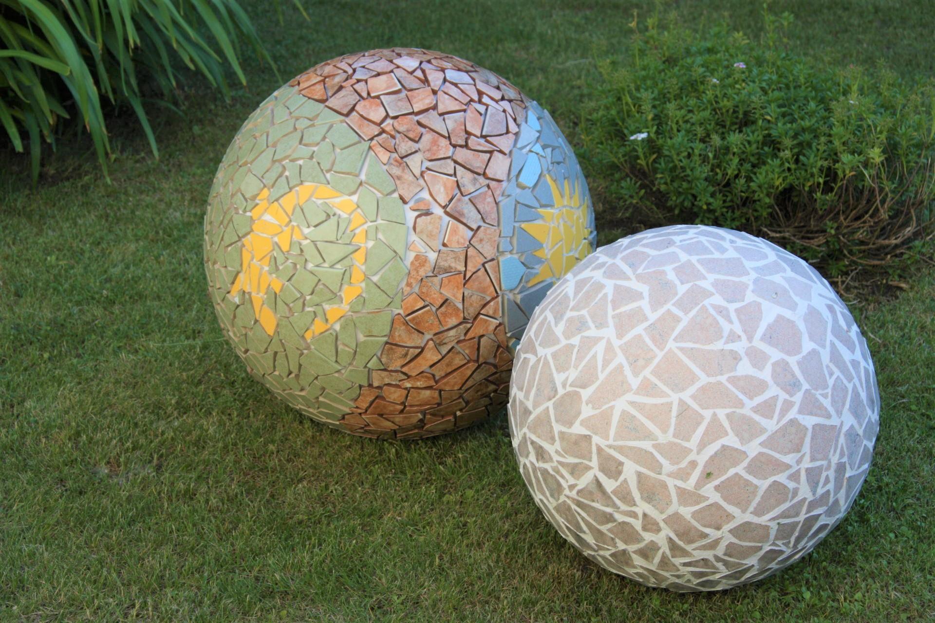 jak vyrobit mozaikové koule 2
