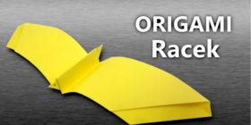 Origami Racek - jak vyrobit racka z papíru