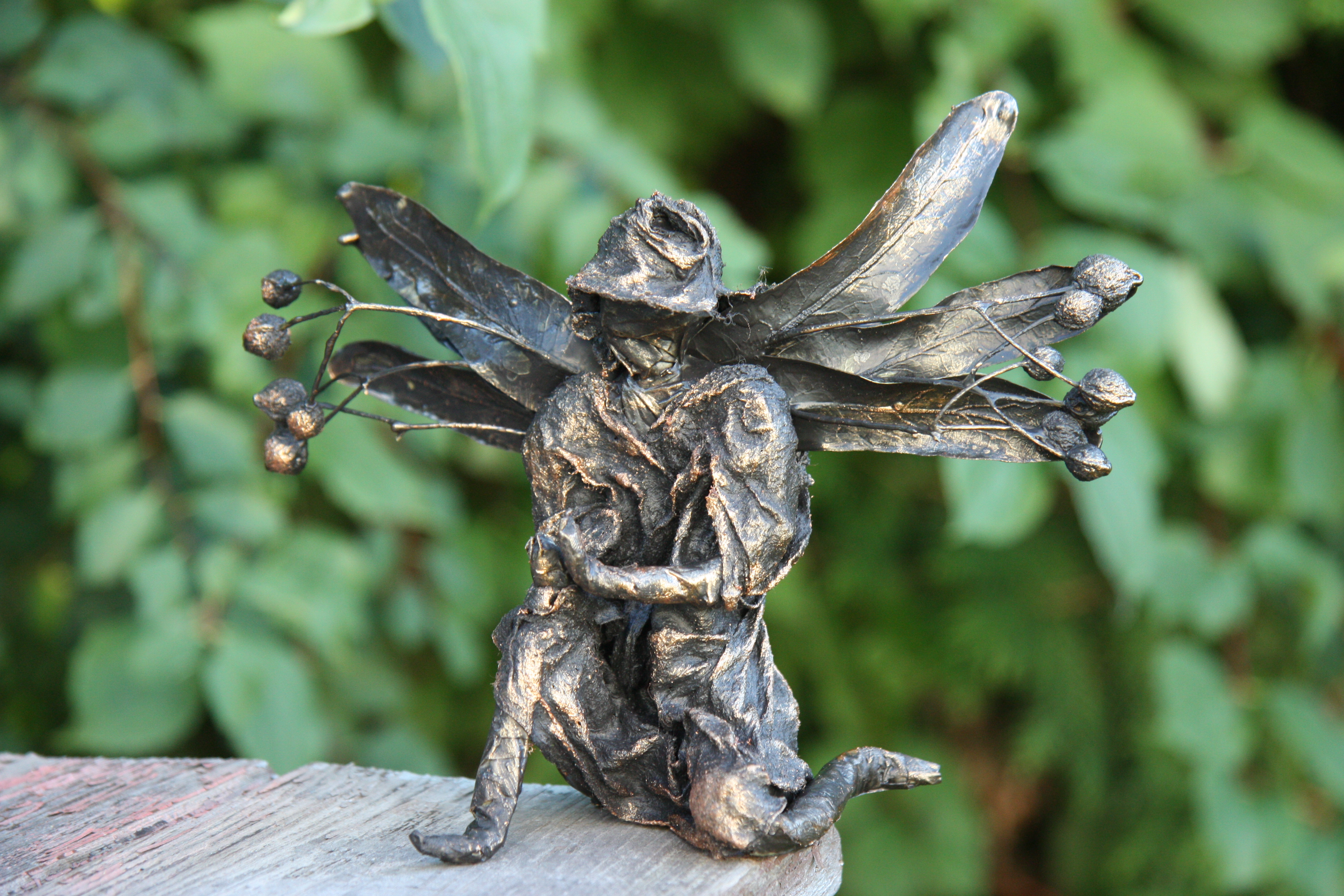 Jak vyrobit sochu z lipového květu