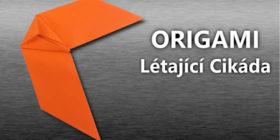 Origami - Létající Cikáda