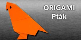 Origami Pták - jak vyrobit origami ptáčka z papíru
