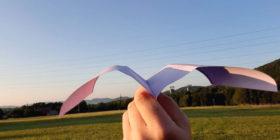 Vlastovka racek - Nejlepší vlaštovka z papíru